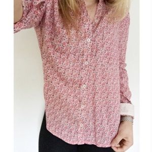 🎭ANTHROPOLOGIE🎭HOLDING HORSES BUTTON DOWN FLORAL